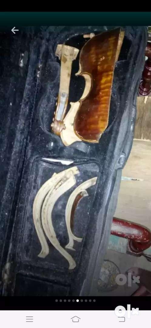 Violin Viola Cello Bass repair restoration 0