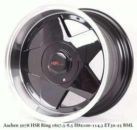jual pelek celong lebar belang model Aachen 5076 HSR Ring16x75-85