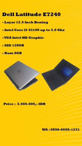 Dell Latitude E7240 core i5 murah meriah