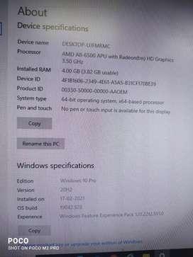 Desktop only