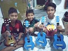 Gitar kentrung Tipis Biru