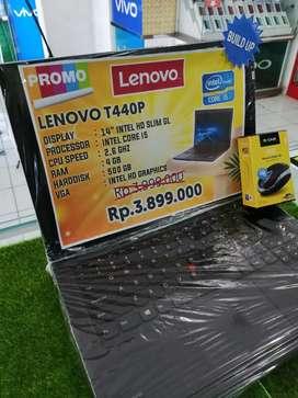Laptop Baru Siap Kerja Lembur Lenovo T440P