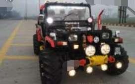Mahindra classic modified jeep
