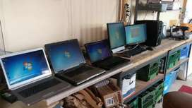Computer and laptop second hand available Rs= 8,500