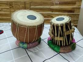 Wooden tabla set