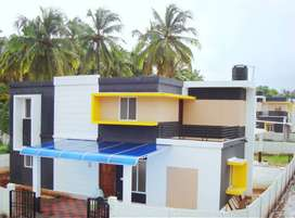Tension Free Home Loan 90% 3BHK Villas for Sale in Palakkad