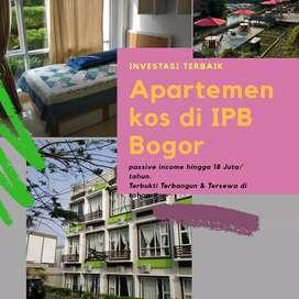 Investasi Apartemen kos passive income 18 jt/tahun di bogor