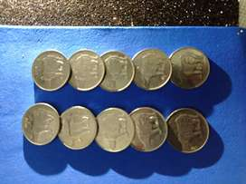 Old Indian Coins (25 paise1988-1994)