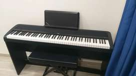 Korg Digital Piano and Bench