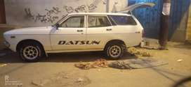 Station wagon datsun 120y 1974 london model recondition 1978