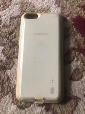 Iphone 6s+ cover power bank