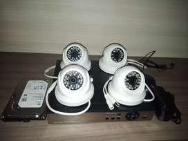 Paket cctv AHD sony imx 3mp Komplit tinggal pasang