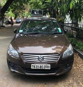 Chocolate Brown Ciaz 2017 model for sale