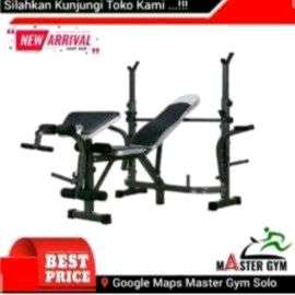 Baru Dan Bergaransi Alat Fitness Bench Press Machine Master - MG#1187