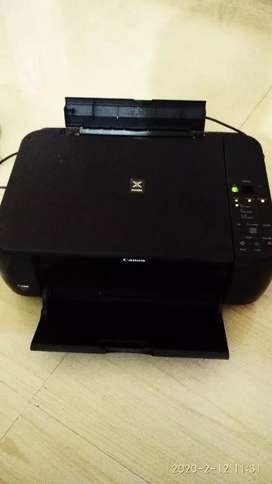 CANON MP 287 multifunction colour printer used one