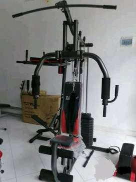 iklan OLX/full red combi home gym #total 18 VR