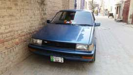 Corolla 84 converted 86 total paint in and outside ac working v good