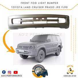 Front FOG Light Bumper For Toyota Land Cruiser Prado FJ90 J90 96-02