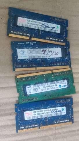 4 Pc of 2GB RAM