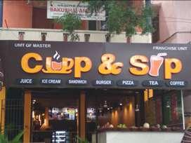 Cup & sip cafe.