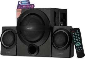 NEW F&D A140X 37 W Bluetooth Home Theatre  (Black, 2.1 Channel)