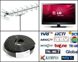 Jual Pasang Sinyal Antena Tv Siaran Nasional Uhf