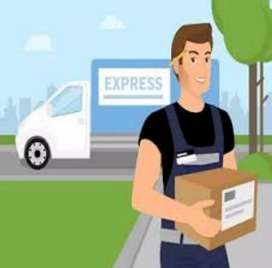 Delivery Boy required for delivering of parcel