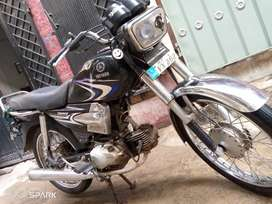 Yamaha junoon is for sale with owsome road grip