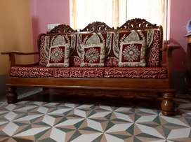 3 seater sofa full shegun original...total price is 2lakh.