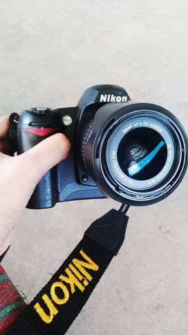 Nikon D70 with all accessories