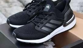 Adidas ultraboost 2020 core black#Luwegit