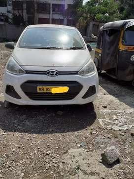 Hyundai xcent  petrol cng