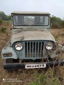 Mahindra 540 Jeep Short body Diesel as it condition sell Urgent