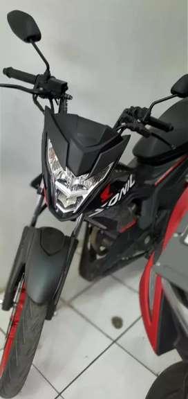 Honda Sonic thn 2018 cash/kredit unit ready