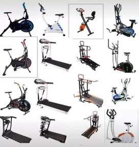Alat fitness / treadmill / homegym / sepeda statis import bc fvbju7