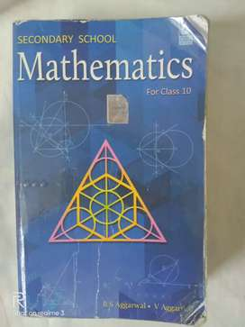 SECONDARY SCHOOL MATHEMATICS ( R.S. Aggarwal)