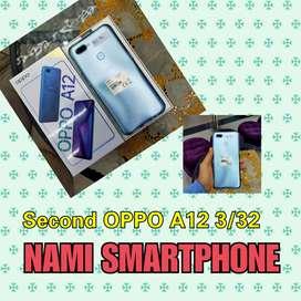 Jual Second OPPO A12  Grey  3/32 Display Toko di NAMI SMARTPHONE