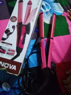 Nova hair curler nd streightnr