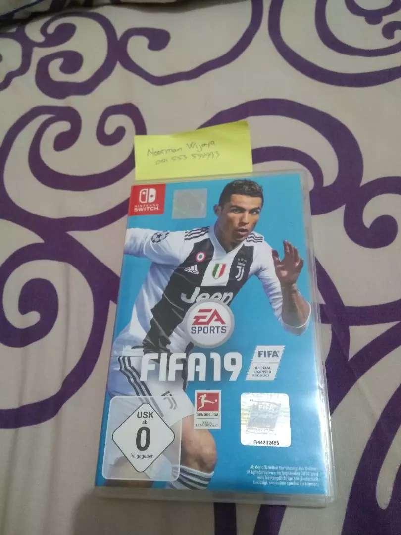 Nintendo switch FIFA19 0