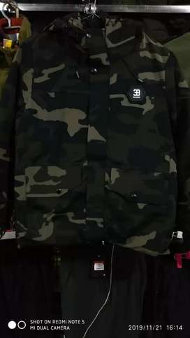Jeep 39 ThirtyNine Camoflauge Insolated Jacket