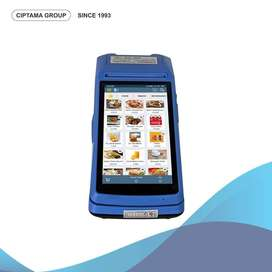 Mesin Kasir Portable Android POS Terminal - Usaha Warung