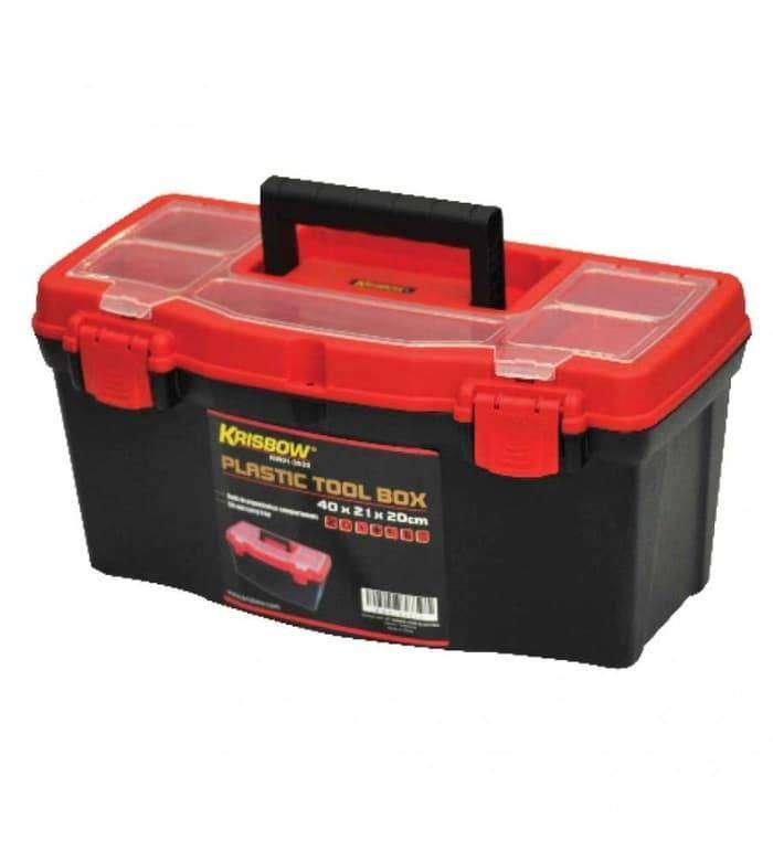 TOOL BOX KRISBOW 50X26X24CM PLASTIC KW0103934 0