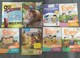 Buku Pelajaran Kelas 1 SD Sutomo 1 Medan Lengkap