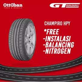 Jual ban mobil ukuran 225/45 R18 GT radial champiro hpy.