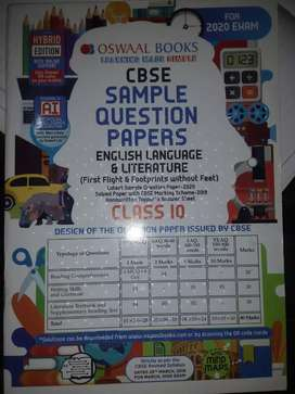 CBSE Class 10 sst,english and science sample papers