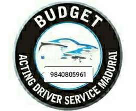 I am acting driver only , weekend & holiday