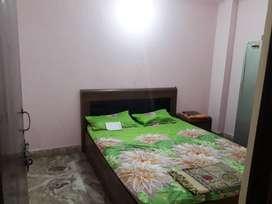 2 room flat  with bike parking near jasola vihar metro station