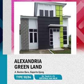 ALEXANDRIA GREEN LAND RUMAH SUDAH READY