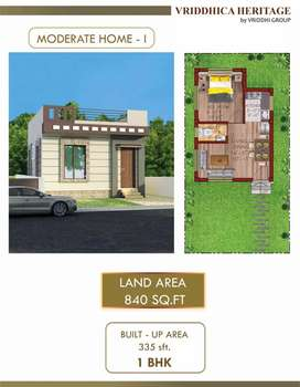Vriddhi is offering moderate Houses with reasonable price