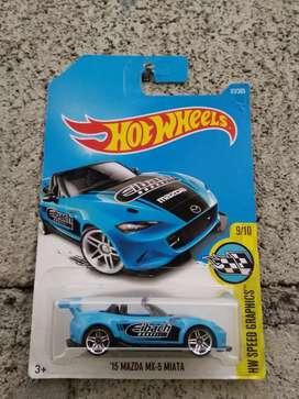 Hotwheels Mazda MX5 Miata